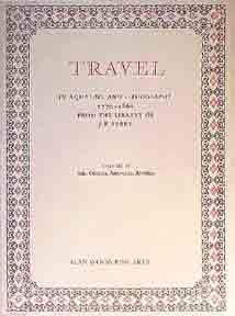 Travel in Aquatint and Lithography, 1770-1860: A Bibliographical Catalogue, Vols. 1 and 2. J. R. Abbey.