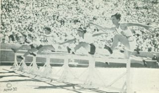Photographs of 1932 Summer Olympics in Los Angeles Including Babe Didrickson, Chuhei Nambu, and...
