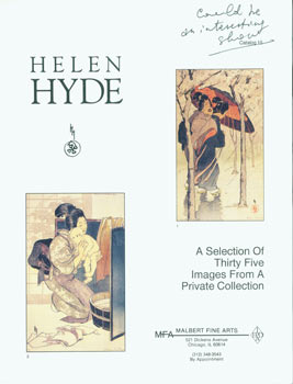 Helen Hyde: A Selection of Thirty Five Images from a Private Collection, Catalog 15. Lots 1-35....