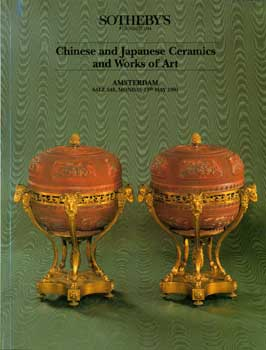 Chinese and Japanese Ceramics and Works of Art. May 13, 1991. Sale 469. Lots # 1 - 50. Sotheby's,...