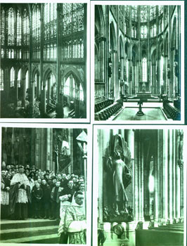 14 Postcards Of Cologne. 20th Century European Photographer