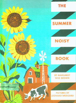 Dust-Jackets for 1. The Summer Noisy Book; 2. The Indoor Noisy Book; 3. The Seashore Noisy Book;...