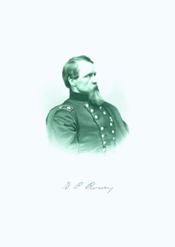 Engraved Portrait of Maj. Gen. David B. Birney. J. C. Buttre