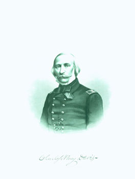 Engraved Portrait of Com. Charles H. Davis. J. C. Buttre