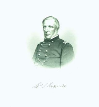 Engraved Portrait of Brig. Gen. James S. Wadsworth. J. C. Buttre