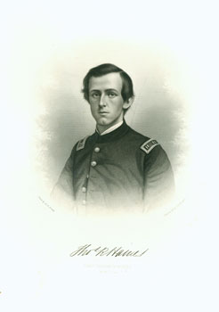 Engraved Portrait of Captain Thomas R. Haines. J. C. Buttre
