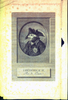 Frederick II, Roi de Prusse. (Frederick the Great, 1712-1786, reigned over Kingdom of Prussia...