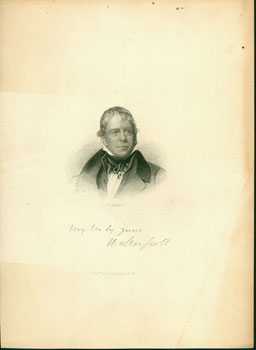 Walter Scott. H. B. Hall, Jr, engrav