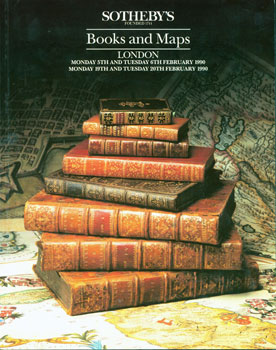 Books And Maps. February 5-6 & 19-20, 1990. Sotheby's, London
