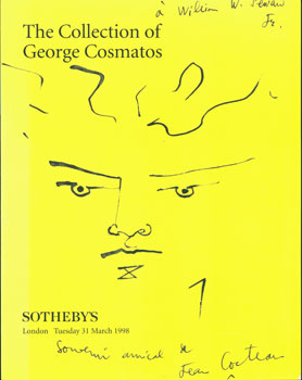 The Collection of George Cosmatos. 31 March, 1998. Sotheby's, London