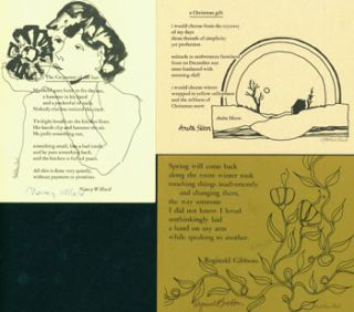 Cold Mountain Holiday Postcards. Cold Mountain Press, Reginald Gibbons, Anita Skeen, Nancy...