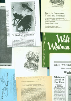 Walt Whitman-Related Articles and Miscellany. John Ciardi, Rober M. Asselineau, Walt Whitman, R....