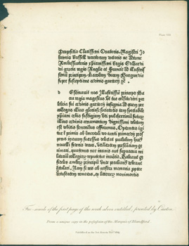 Typographical Antiquities, Or, The History of Printing in England, Scotland, and Ireland.] Single...
