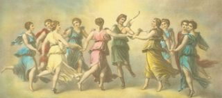 The Dance of Apollo With the Muses. After Baldassarre Peruzzi