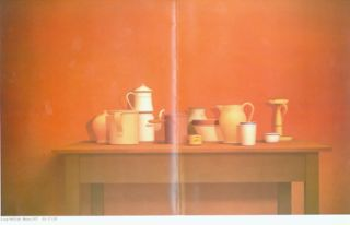 Large Still Life - Rome, 1977. William Bailey, April 7 - May 12, 1979, Fendrick Gallery,...