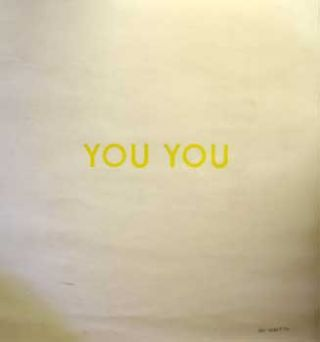 You You. Aram Saroyan