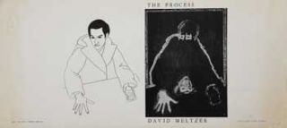 The Process [unfolded cover art]. Peter MELTZER Le Blanc, David, Artist