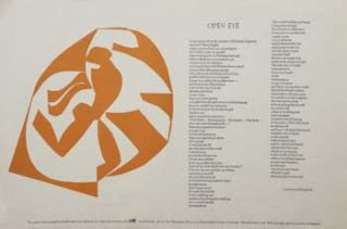 Open Eye [Broadside]. Lawrence Ferlinghetti
