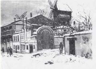 "Art Dealers endeavoring to sell Maurice Utrillo; ""Le Moulin de la Galette sous la Neige. Stuart..."