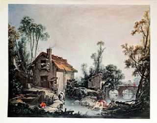 Landscape with a Watermill. Francois Boucher