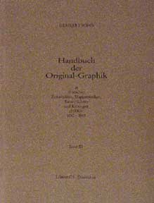 German Periodicals with Original Graphics, 1890-1933. Handbuch der Original-Graphik in deutschen...