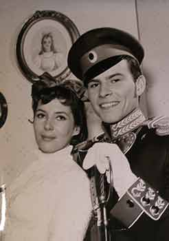 "Myriam Bru and Horst Buchholtz in ""Resurrection"", 1958. Bavaria Film"