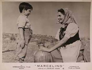"Pablito Calvo in ""The Miracle of Marcelino"", 1955. Chamartin Producciones"