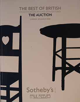 The Best of British Design From the 19th and 20th Centuries: The Auction. March 20, 2008. Lots...