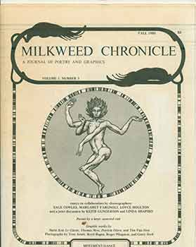 Milkweed Chronicle. A Journal of Poetry and Graphics: Volume 1, Number 3. Fall 1980. Emilie Buchwald