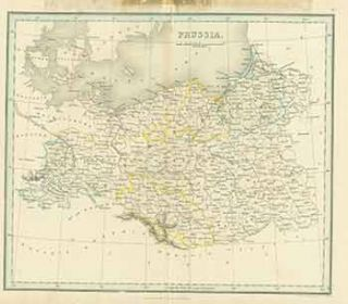 Prussia. (19th Century Map). Alex Findlay