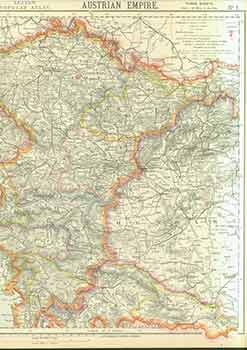 Austrian Empire No. 1 (19th Century Map). Letts Son, Co Limited