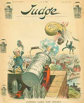 "Judge. Volume 39, No. 979. July 21, 1900. ""Judge's 'Long Tom' Speaks."" Limited edition. Judge..."