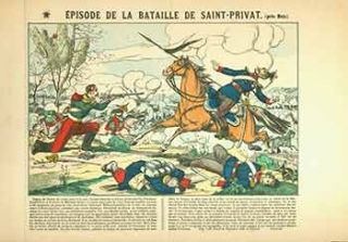 Épisode de la Bataille de Saint-Privat (près Metz.). [Episode of the Battle of Saint-Privat...