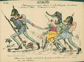 Actualités. (News). 19th Century French Artist