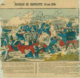 Actualités.) Bataille de Gravelotte 16 août 1870. (News. Battle of Gravelotte August 16, 1870)....