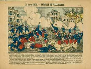Actualités.) 15 janvier 1871 -- Bataille de Villersexel. (News. January 15, 1871 - Battle of...