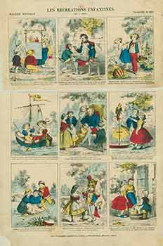Les Récréations Enfantines. (Children's Recreation) No. 418. 19th Century French Artist