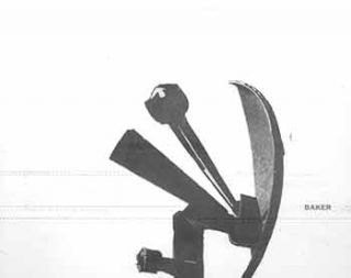 Sculpture by George Baker: First One Man Exhibition. (March 28 - April 16, 1960). George Baker,...