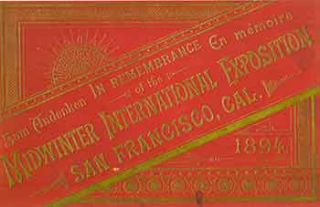 Victorian Views San Francisco Midwinter International Exposition. (Facsimile of 19th Century View...