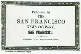 Victorian Views Album of San Francisco 1880s/1890s. (Facsimile of 19th Century View Book of...