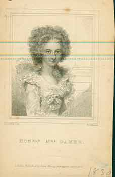 Honorable Mrs. Damer. (Engraving). R. Cosway, W. C. Edwards