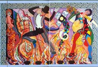 "I'm Dancing as Fast as I Can:"" New Paintings by Miriam Schapiro. (Exhibition: March 11 - April 5,..."