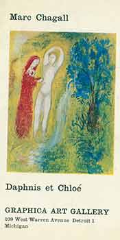 Marc Chagall: Daphnis et Chloe. 196[8]. Graphica Art Gallery. Detroit, Michigan. [Exhibition...