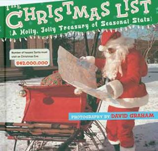 The Christmas List: A Holly, Jolly Treasury of Seasonal Stats. [First edition]. [Signed by David...