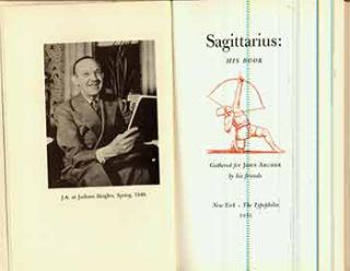 Sagittarius: His Book. (From one of 640 copies). Harry Miller Lydenberg, Bruce Rogers