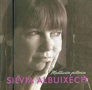 Silvia Albuixech, Meditación Pictórica. (Signed and inscribed by Silvia Albuixech.). Silvia...