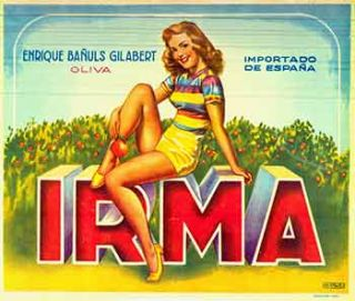 IRMA: Enrique Banuls Gilabert (Spanish Citrus Crate Label). A. Teris