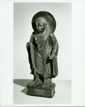 Photograph of Ancient Statue of Boddhisatva. Freer Gallery of Art, Chinese Artist, Washington DC