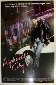 Alphabet City. Atlantic, Andrew Braunsberg, Michael Winslow With Vincent Spano, Jami Gertz, Kate...