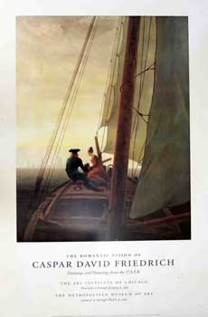 On the Sailboat, 1818-1819. The Romantic Vision of Caspar David Friedrich, Paintings and Drawings...